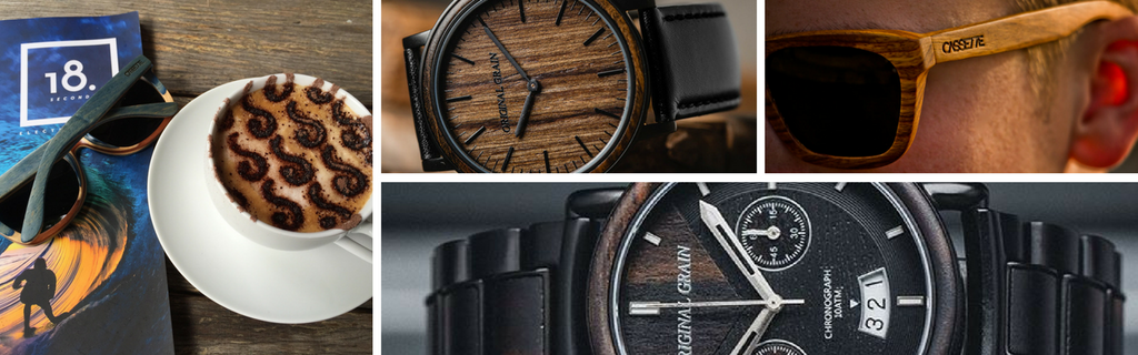 Stylish Wooden Sunglasses & Watches from The Wood Reserve