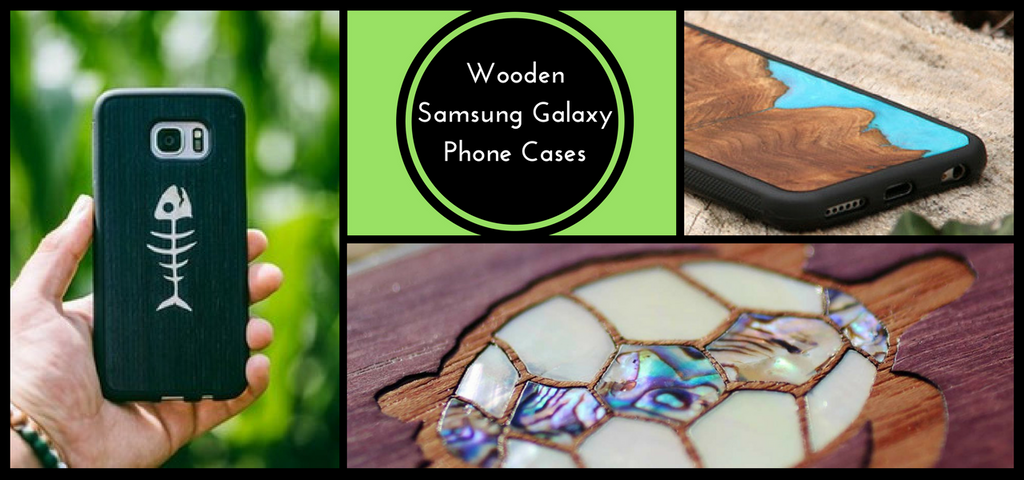 Real Wood Samsung Galaxy Phone Cases