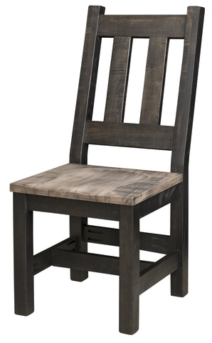Rough-Cut Dining Side Chair