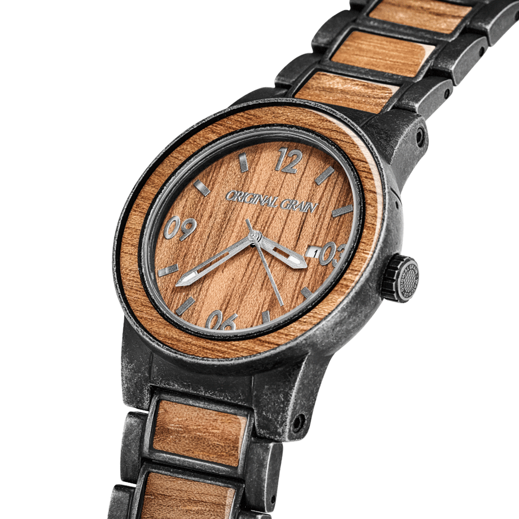 grain gadget barrel watches original portfolio collection wood flow