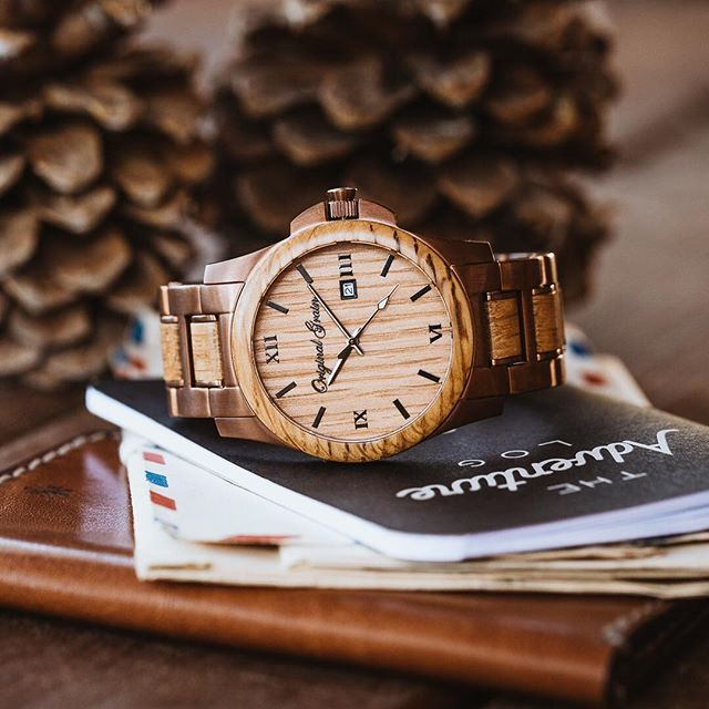 w made style watches whiskey with watch kickstarter best the barrel wood handcrafted