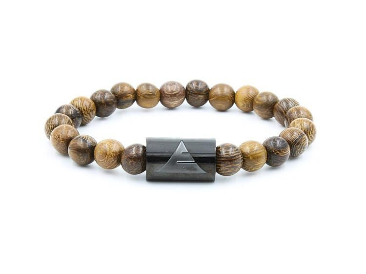 bracelet large brown beads wood img streetsoul for product women men from