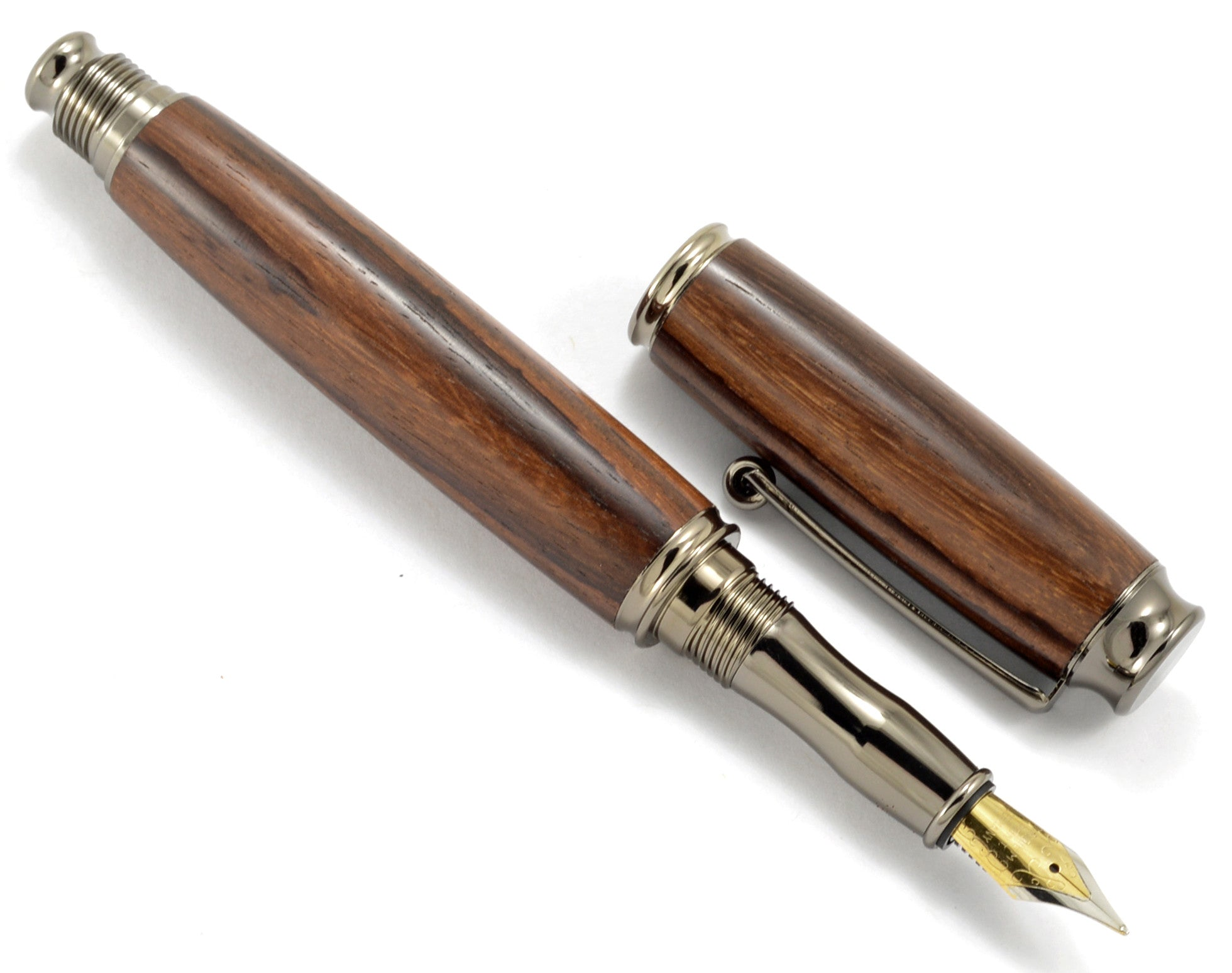 Fountain Ink Refills · Executive Style - Ebony Solid Wood Pen ...
