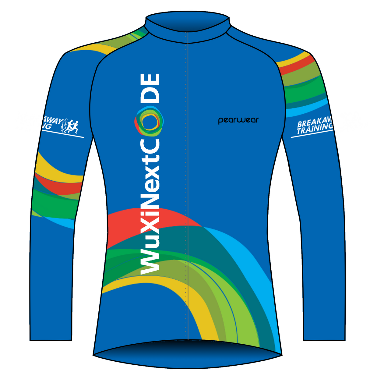 Wuxi NextCODE Charity Event Cycling Jacket