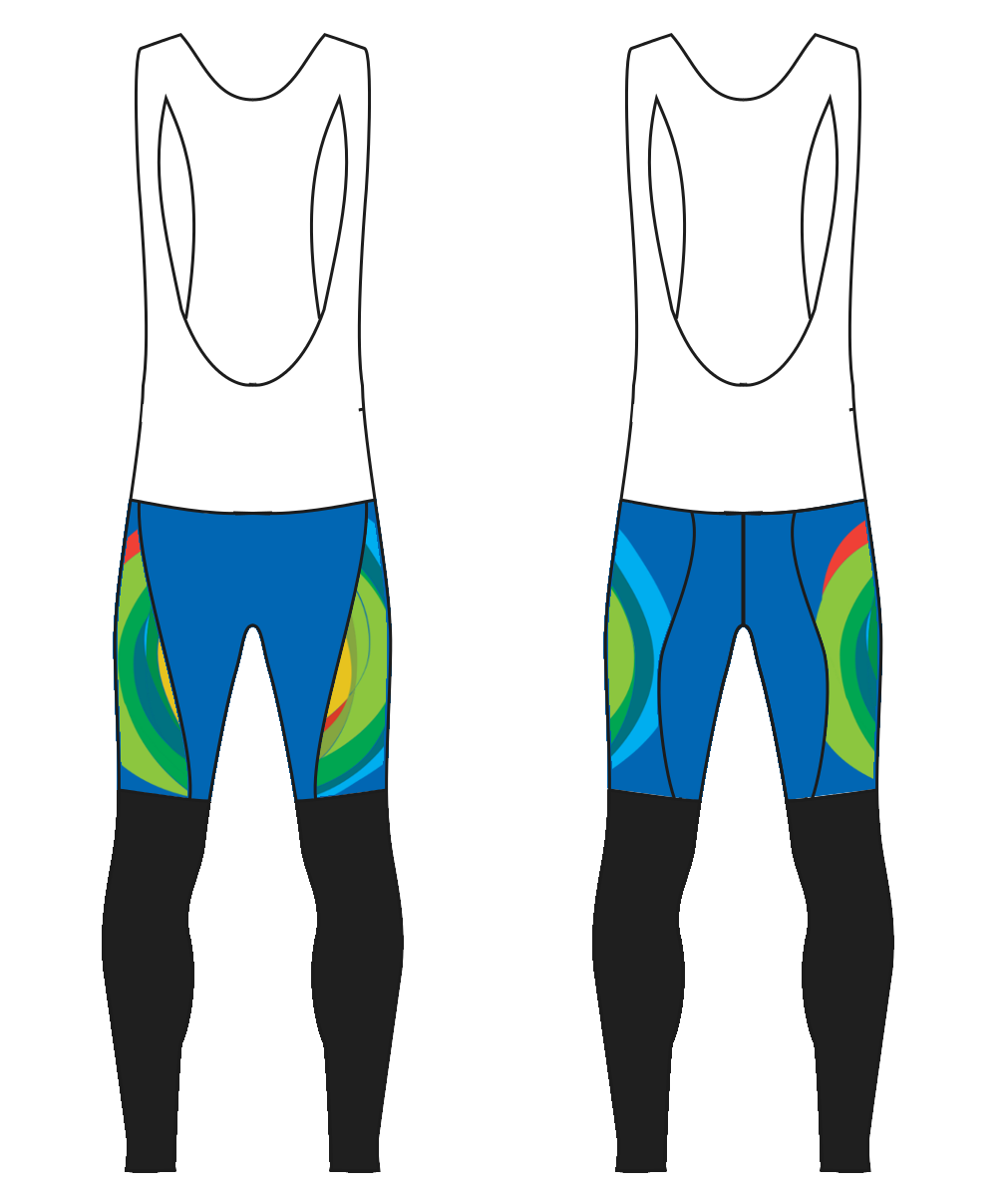 Wuxi NextCODE Men's Bib Tights