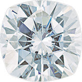 FOREVER ONE MOISANITE D E F COLOR WHOLESALE - CUSHION CUT