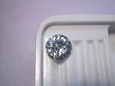Cubic Zirconia 10mm, 3.5 carat  Round Brilliant CZ