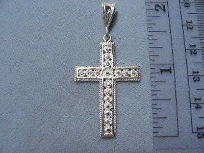 CROSS Gallery Design Sterling Silver 1.5 inch