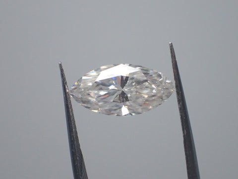 MOISSANITE MARQUISE 3 carat equivalent 14x7mm Loose. E F Colorless - Pure Light