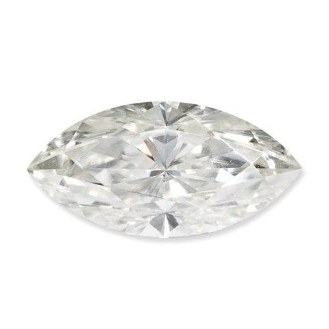 MOISSANITE MARQUISE 1  carat equivalent  Loose. E F Colorless - Pure Light