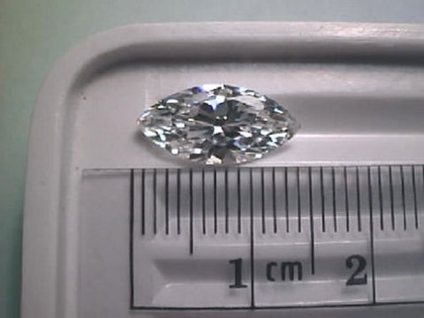 CZ Cubic Zirconia 14x7mm Marquise 3 carat size
