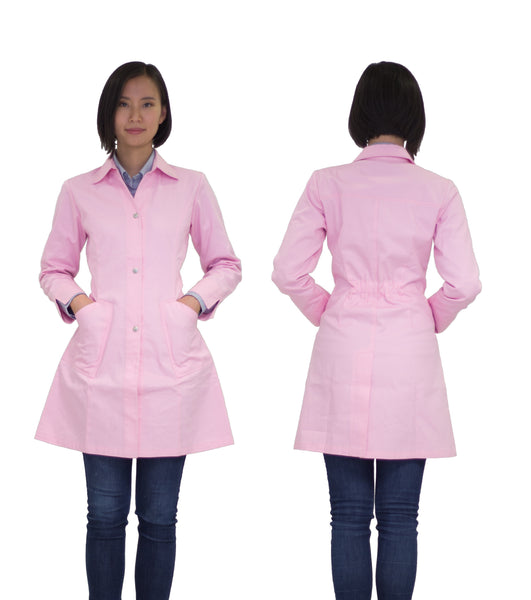 Kyra lab coat - pink