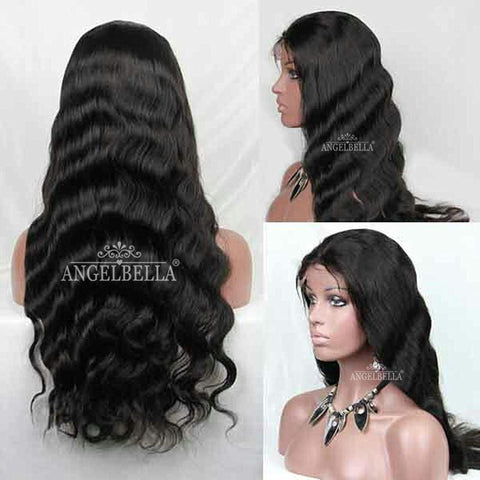 Brazilian Body Wave Human Hair - Lace Front With Baby Hair