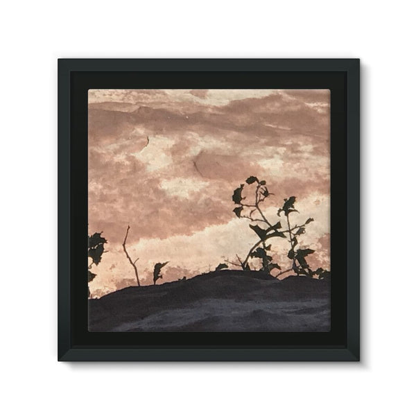 Wild Thangs - Original  Framed Eco-Canvas