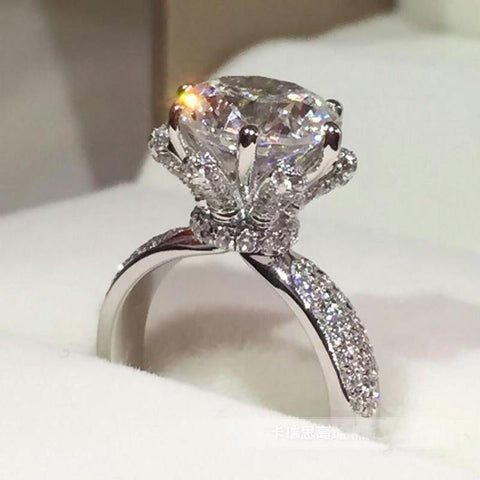 3 Carat CZ Luxury Ring