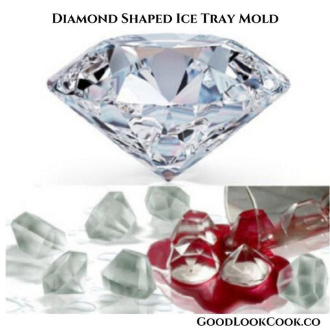 Good Look Cook! Diamond Shaped Ice Tray Mold