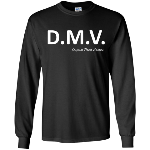 """DMV"" Paper Chasers LS T-Shirt"
