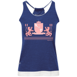 """Kinky Perfect Pink Crest"" Vintage Heathered Tank"