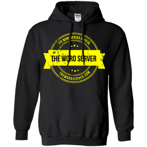 The Word Server Official Hoodie 8 oz