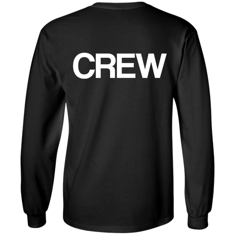 """CREW"" Cotton Long Sleeve"