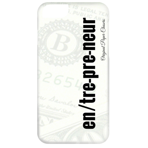 """Entrepreneur"" Paper Chasers iPhone 6 Case"