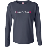 """Kinky Perfect Classic""  Long Sleeve Cotton TShirt"