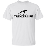 Trekker Life Fly Cotton T-Shirt - Blk