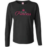 100 Percent Princess Long Sleeve Cotton Tee