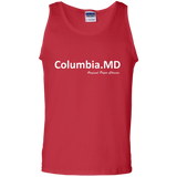 """Columbia, MD"" Paper Chasers Tank Top"