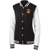 Poultry Princess Girly Fleece Letterman Jacket