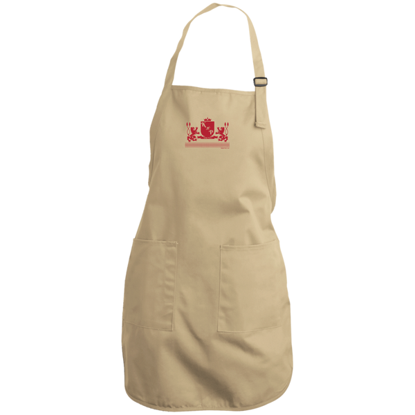 """Kinky Perfect Crest"" Full Length Apron"