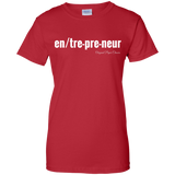 """Entrepreneur"" Paper Chasers Ladies T-Shirt"