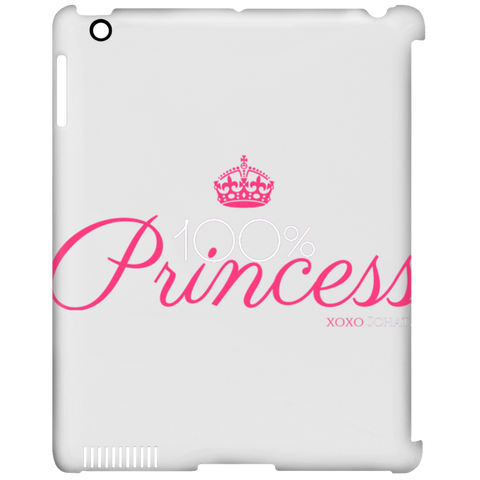 100 Percent Princess iPad Clip Case