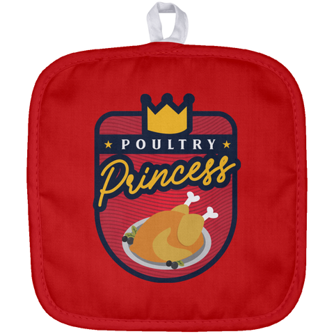 Poultry Princess Pot Holder