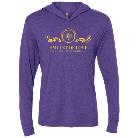 Amulet Of Love Long Sleeve Tee With Hood