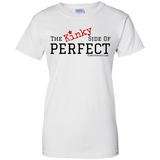 """The Kinky Side Of Perfect"" Ladies Cotton T-Shirt"