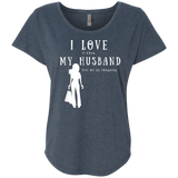"""I Love it When Shopping"" Ladies' Dolman Sleeve Cotton Tee"