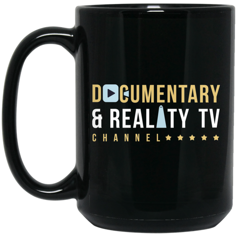 Documentary And Reality TV Black Mug