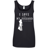 """I Love it When Shopping"" Ladies' Cotton Tank"