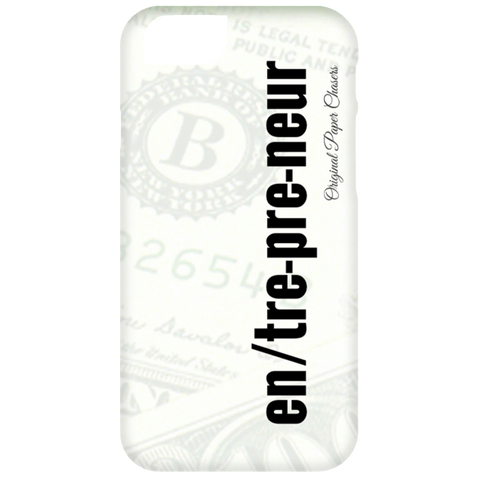 """Entrepreneur"" Paper Chasers iPhone 6 Plus Case"