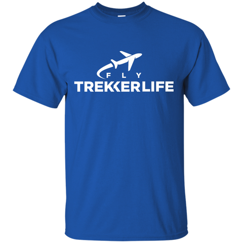 Trekker Life Fly Cotton T-Shirt - Wht