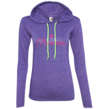 """100 Percent Princess"" Ladies Hoodie"