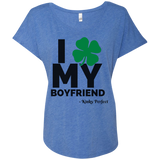 I Love My Boyfriend - NEW Shamrock Tee