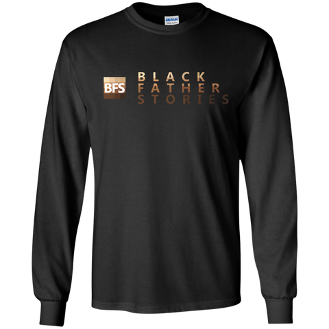 Black Father Stories Long Sleeve T-Shirt