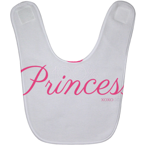 100 Percent Princess Baby Bib
