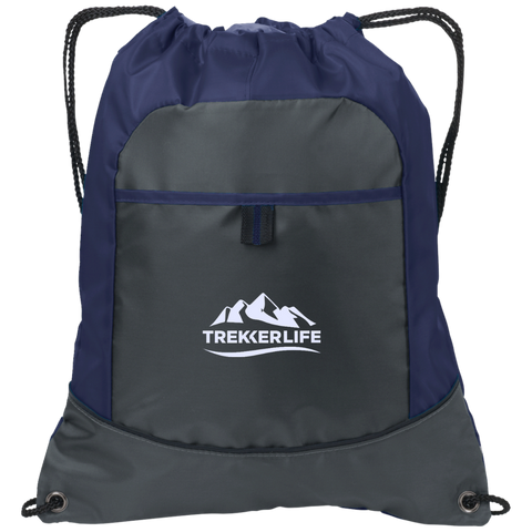 Trekker Life Active Pocket Cinch Pack - Wht