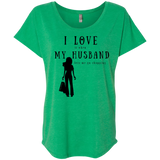 """I Love It When Shopping"" Variant Ladies' Dolman Sleeve Tee"