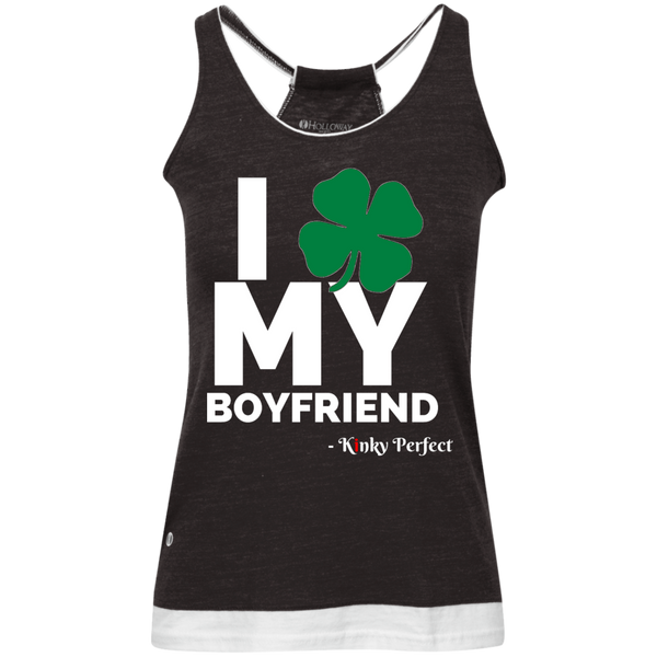 I Love My Boyfriend - Shamrock Vintage Heathered Tank