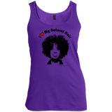 """I Heart My Natural Hair"" Women's Scoop Neck Tank Top"