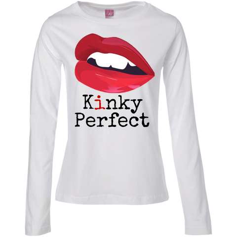"""Kinky Perfect Classic"" Ladies' Long Sleeve Tee"